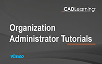 Organization Admin Tutorials