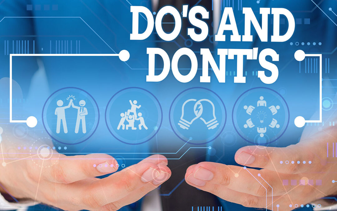 Staccato Messaging Dos and Don'ts